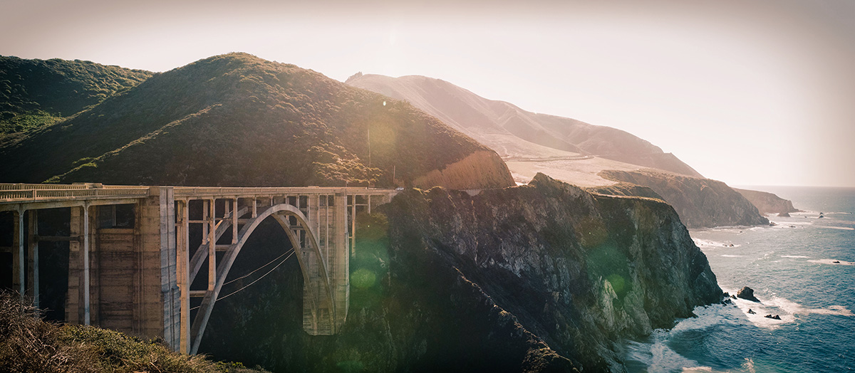 Bixby bridge pano
