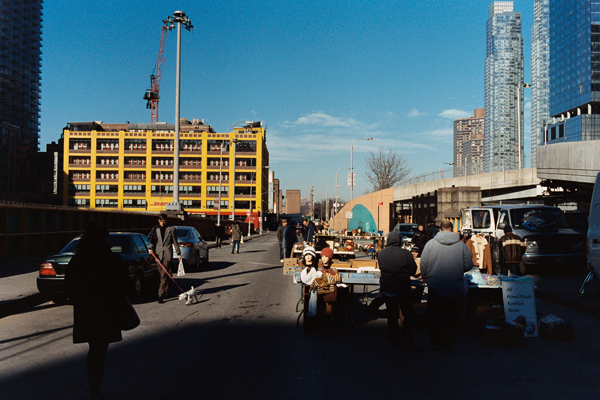 nyc farmers market portra 400