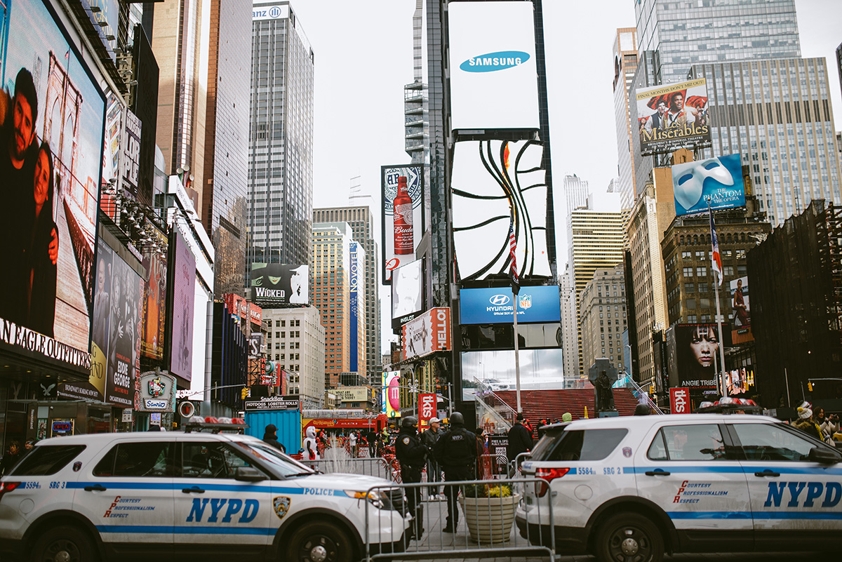nyc times square nypd
