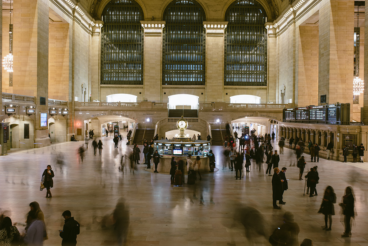 grand central station blur