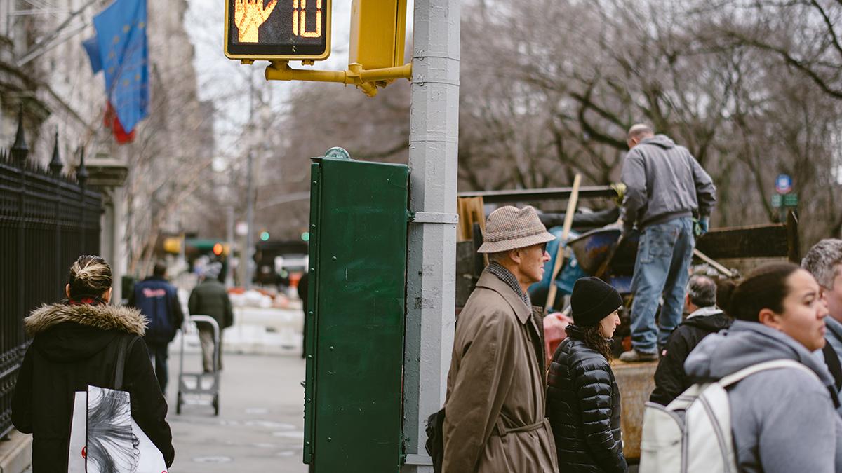 nyc sidewalk style
